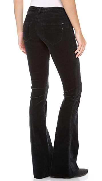 Genetic Los Angeles The Simone Velvet Flare Pants