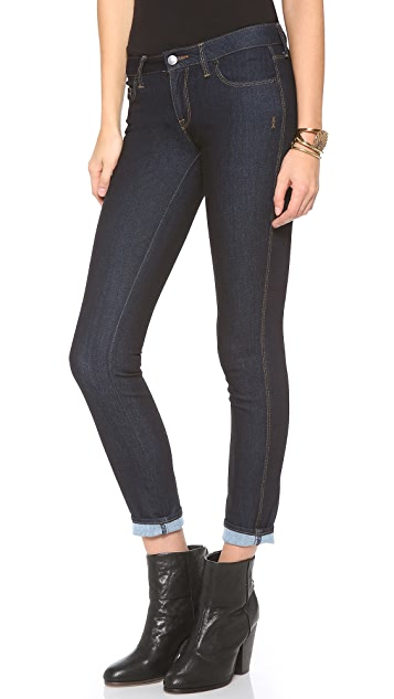 Genetic Los Angeles The Shya Brushed Cigarette Jeans
