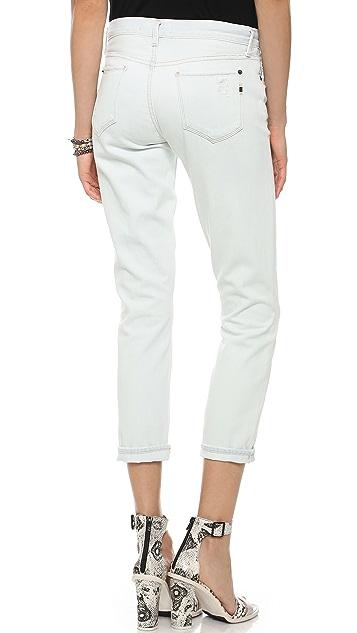Genetic Los Angeles Alexa Skinny Straight Crop Jeans