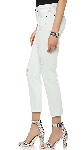 Genetic Los Angeles Alexa Skinny Straight Crop Jeans