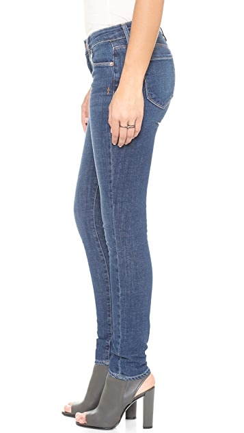 Genetic Los Angeles Stem Mid Rise Skinny Jeans