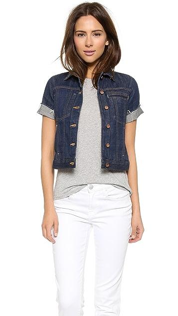 Genetic Los Angeles Blondie Short Sleeve Denim Jacket | SHOPBOP