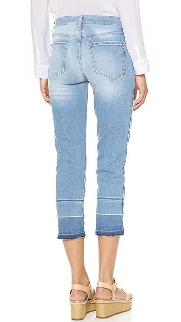 Genetic Los Angeles Birkin High Rise Straight Crop Jeans