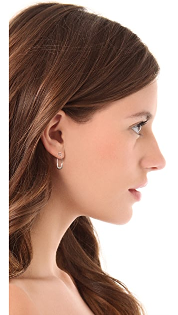 Genevieve Jones Classic Harvest Safety Pin Earrings