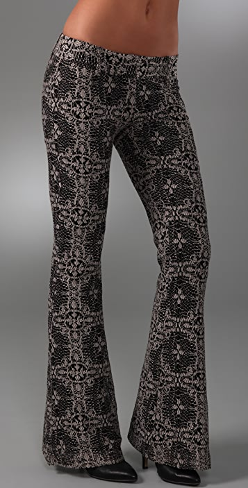 Georgie Ashley Lace Bell Bottom Pants