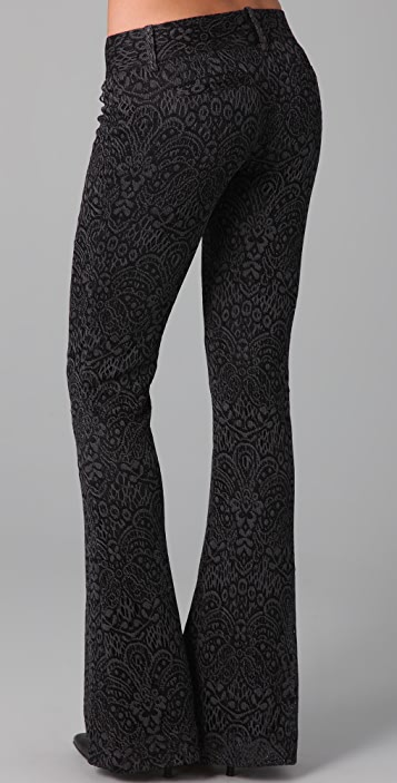 Georgie Lace Bell Bottom Pants
