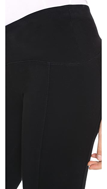 GETTING BACK TO SQUARE ONE Iconic Cropped Leggings