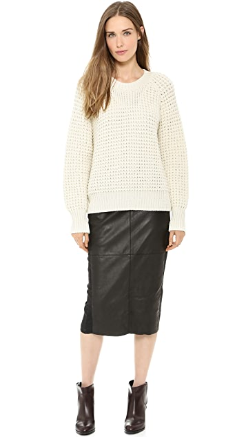Giada Forte Knee Length Pencil Skirt