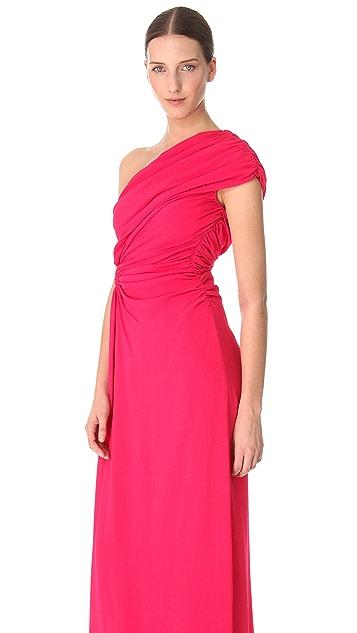 Giambattista Valli Asymmetrical Drape Gown