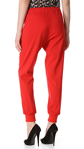 Giambattista Valli Lounge Pants with Knit Cuffs