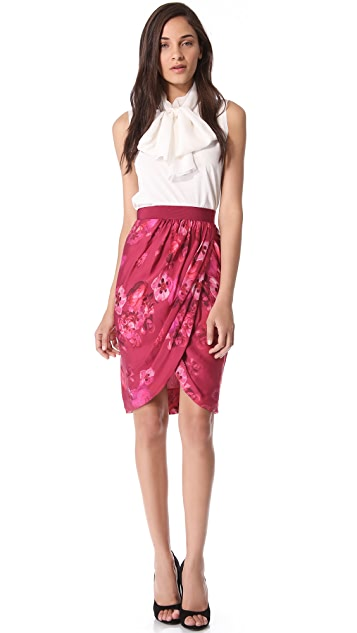 Giambattista Valli Printed Skirt