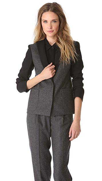 Giambattista Valli Bi Color Blazer