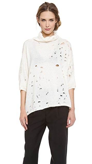 Giambattista Valli Sweater with Holes