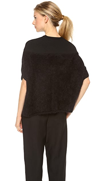 Giambattista Valli Draped Sweater