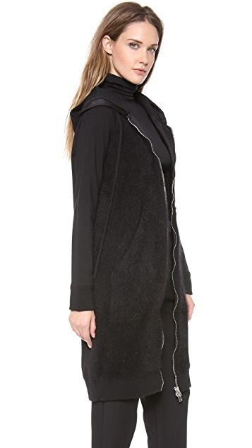 Giambattista Valli Long Sleeve Tunic Sweater