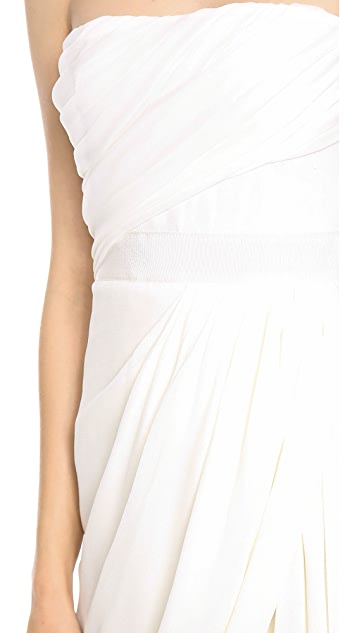 Giambattista Valli Strapless Dress