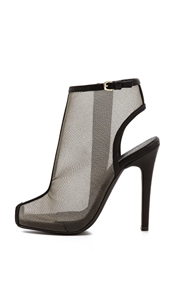 Giambattista Valli Mesh Booties