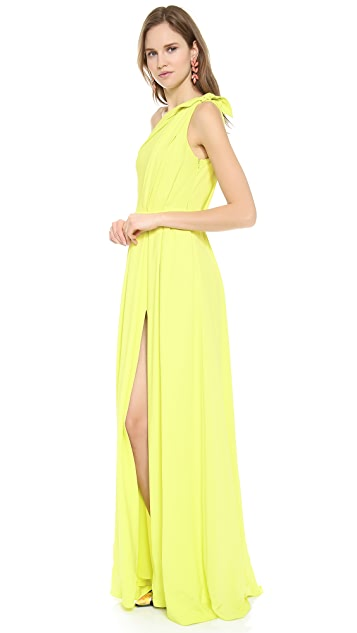 Giambattista Valli One Shoulder Gown