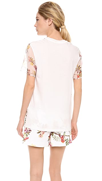 Giambattista Valli Twill T-Shirt