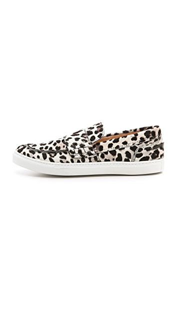 Giambattista Valli Haircalf Slip On Sneakers