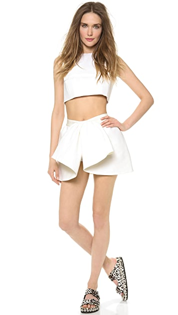 Giambattista Valli Sleeveless Crop Top