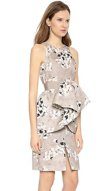 Giambattista Valli Pansy Printed Dress