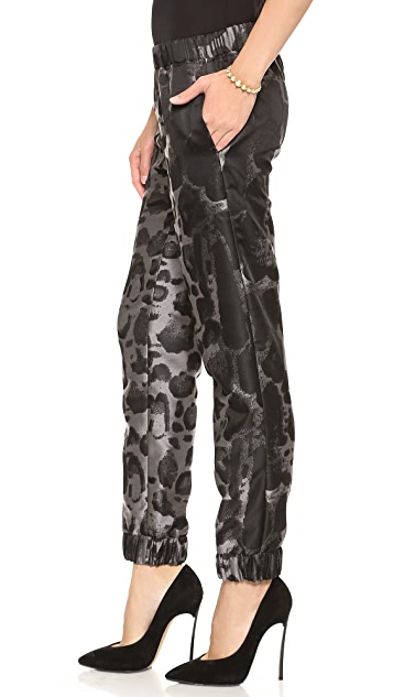 Giambattista Valli Leopard Jogging Pants