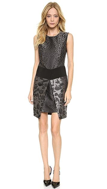 Giambattista Valli Leopard Jacquard Dress