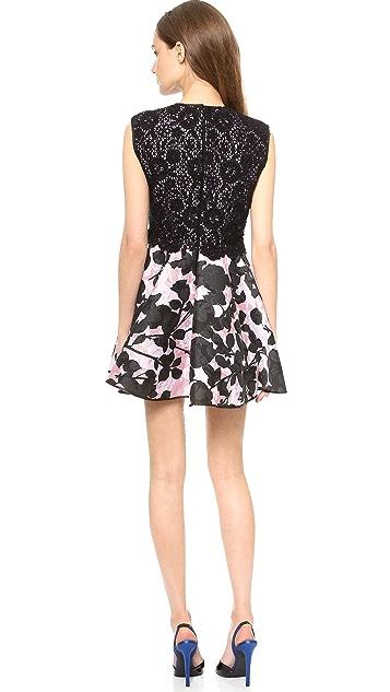 Giambattista Valli Sleeveless Brocade Dress