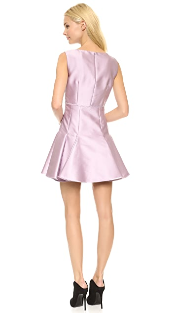 Giambattista Valli Satin Flare Dress