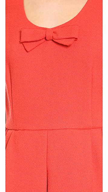 Giambattista Valli Bow Mini Dress