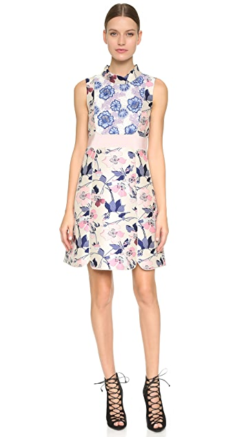 Giambattista Valli Jacquard Dress