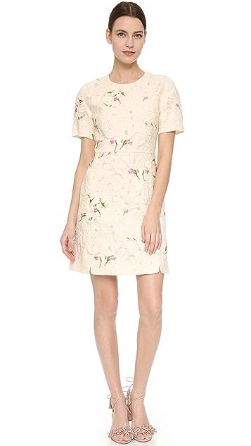 Giambattista Valli Short Sleeve Dress