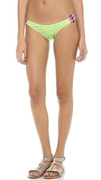 Giejo Side Ruched Bikini Bottoms