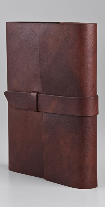 Gift Boutique Antique Leather Journal