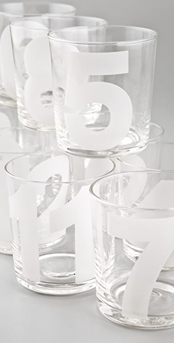 Gift Boutique Number Tumblers