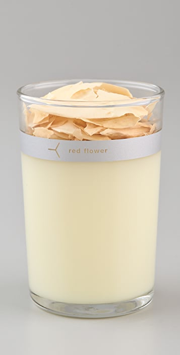 Gift Boutique Red Flower Candle