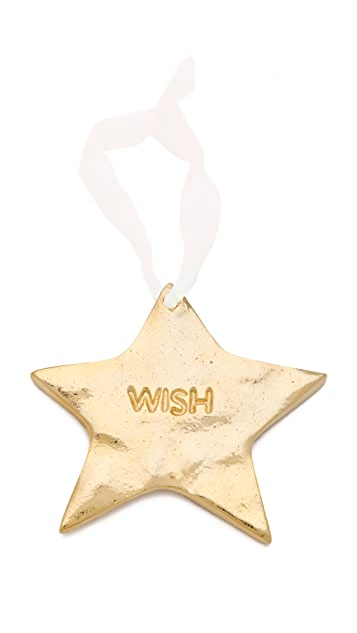 Gift Boutique Lunares Wish Star Ornament