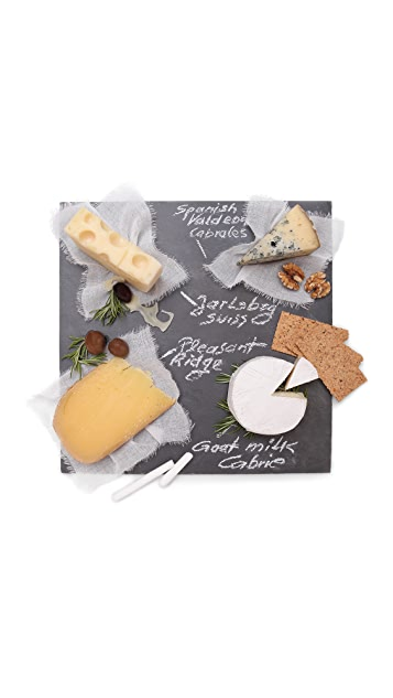 Gift Boutique Memo Chalkboard Serving Plate