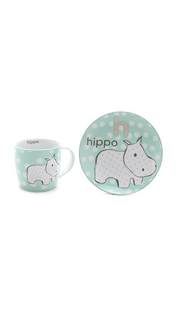 Gift Boutique Animal Mug & Plate Set