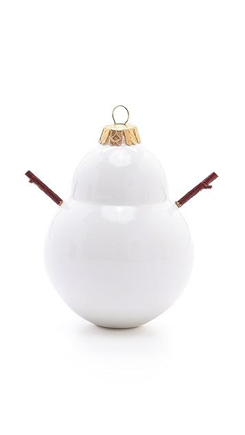 Gift Boutique Reiko Kaneko Twiggy Snowman Bauble Ornament