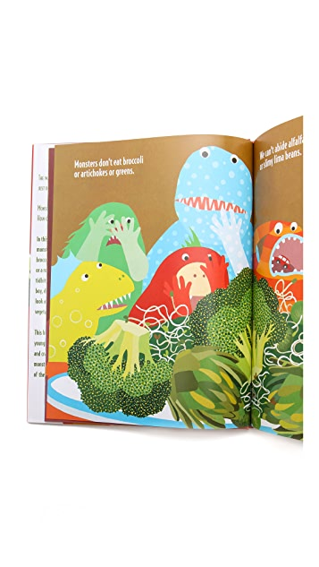 Gift Boutique Monsters Don't Eat Broccoli Book Set