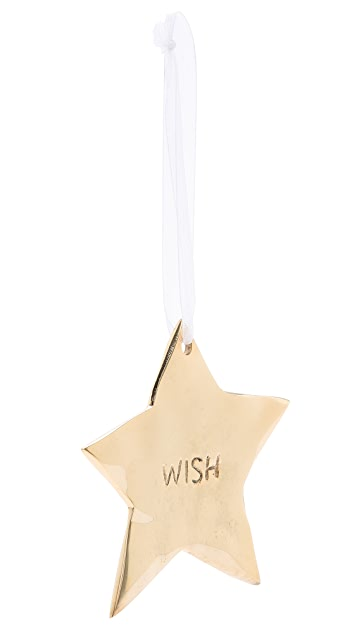 Gift Boutique Lunares Star Wish Ornament