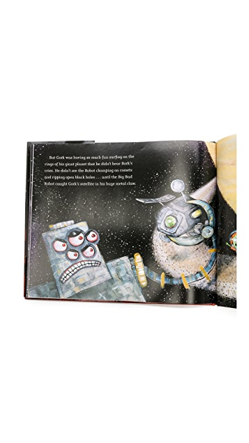 Gift Boutique 3 Little Aliens & The Big Bad Robot Book Set