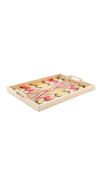 Gift Boutique Zuzu Flame Tray & Glass Set