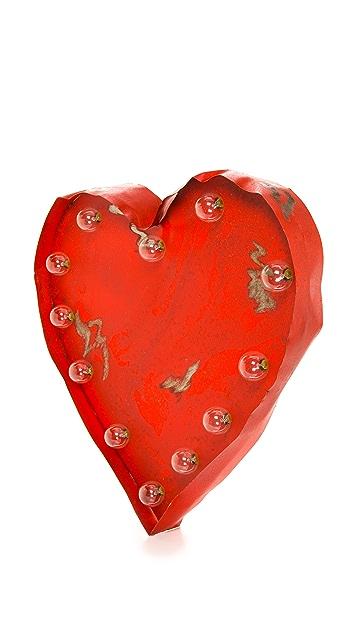 Gift Boutique Светящийся знак Heart