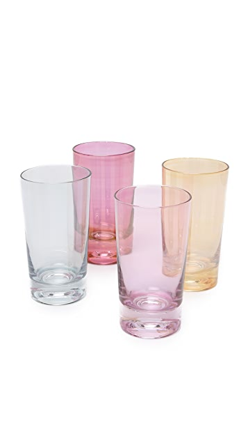 Gift Boutique Lustre Glass Set