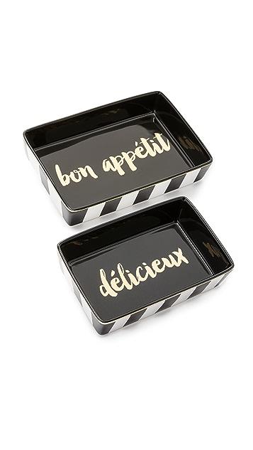 Gift Boutique Декоративные тарелки Soiree Noire