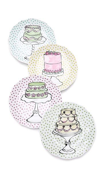 Gift Boutique Eat Dessert First Plate Set