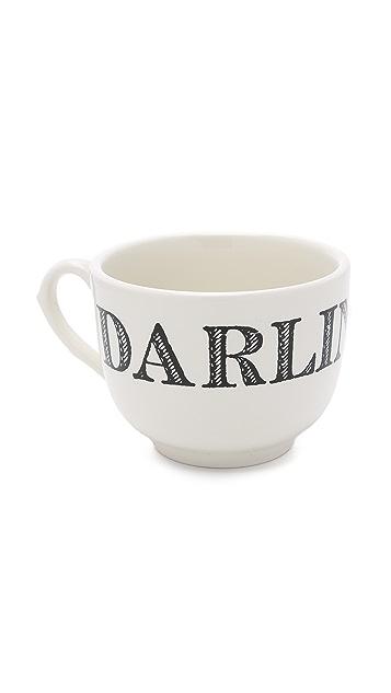 Gift Boutique Большая кружка с надписью «Darling»